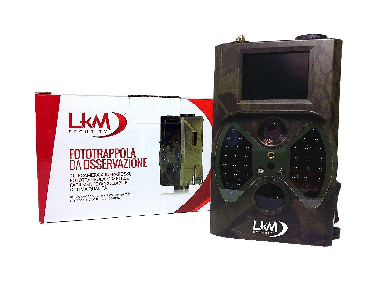 Telecamera Nascosta Da Esterno : Telecamera infrarossi fototrappola gprs gsm mms mp lkm security