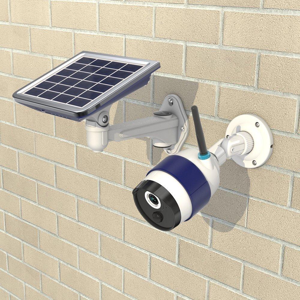Pannello Solare Per Telecamera : Telecamera con pannello solare wifi a batteria gestibile