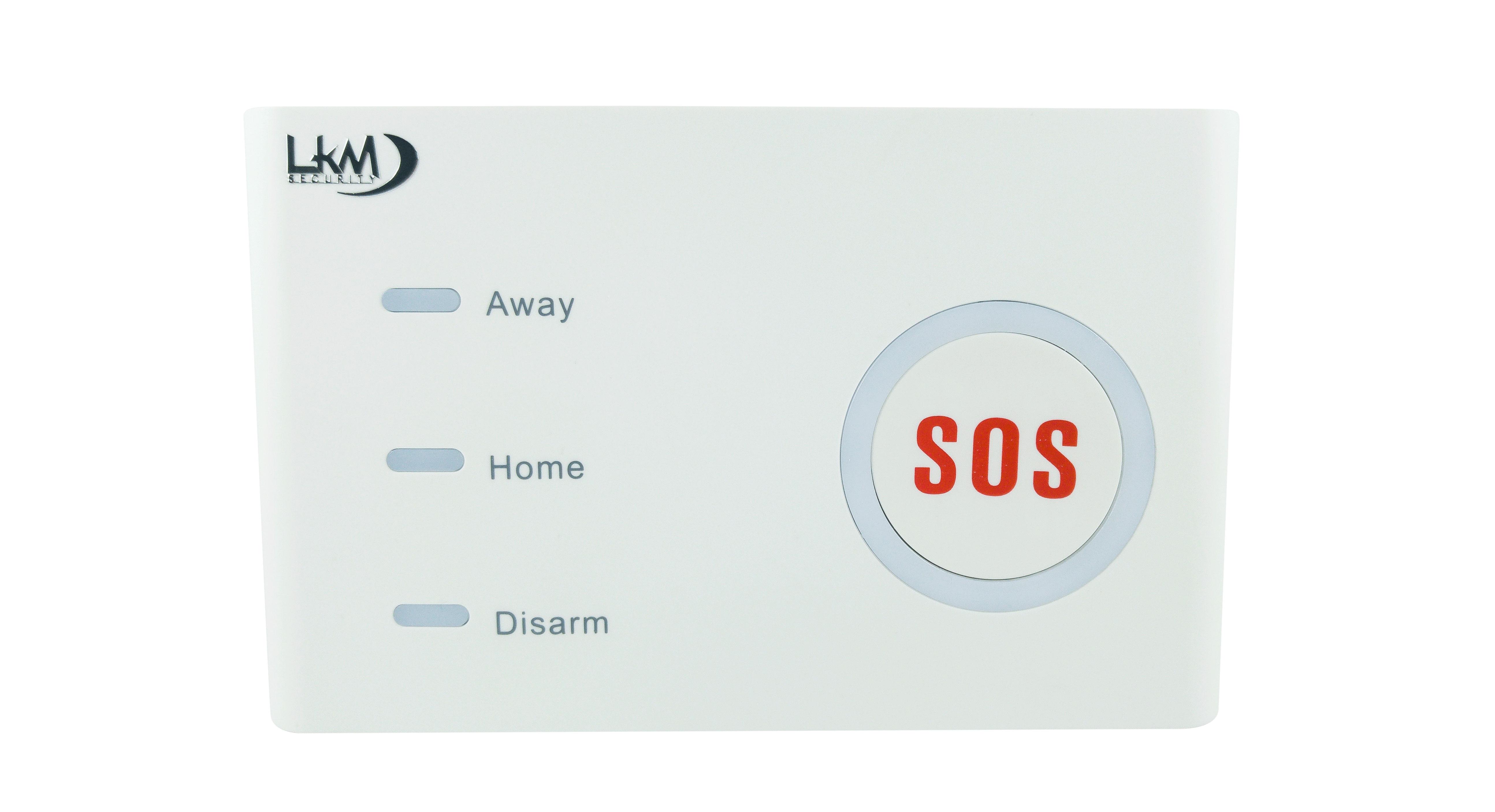 ANTIFURTO ALLARME LKM SECURITY WIFI GSM gestibile con Smartphone e Alexa