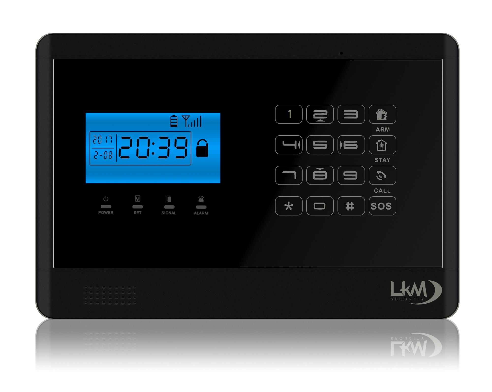 Allarme casa lkm security antifurto wireless senza fili - Allarme per casa prezzi ...