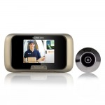 "Eques  R03 Spioncino  Porta  2.8 ""LCD, Camera 0.3Mpx, M-SD Max 32GB"