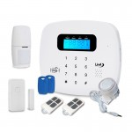 Antifurto casa Wireless IRIS LKM Security Allarme GSM con tastiera touch screen e sensori Wireless