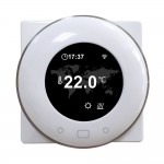 Termostato Wi-Fi per Caldaia Termostato Digitale Programmabile Display LCD Touchscreen con Retroilluminazione compatibile con Alexa e Google Home