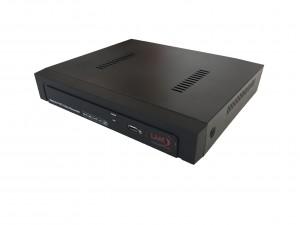 LKM® Registratore NVR 16 canali per telecamere ed impianti IP ad alta risoluzione colore nero - HD Foscam onvif compatibile