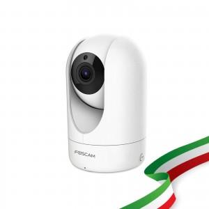Foscam R4M Motorizzata 4 Megapixel Ultra HD H.264 Wireless 112° Diagonale
