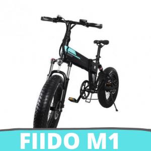 """[FATTURA ITALIANA / BONUS] FIIDO M1 Mountain Bike elettrica, Pieghevole 12,5 Ah 20"""" FAT BIKE Bici elettriche Uomo con Schermo LED Doppio Freno a Disco 7 velocità 3 modalità"""