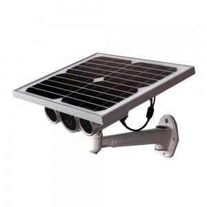 Telecamera IP Wireless LKM Security con pannello solare e batteria da Esterno P2P Wifi HD 720P