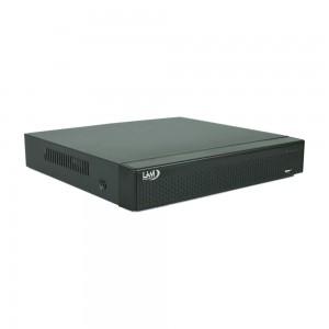 NVR 16 Canali LKM Security per Telecamere IP ad Alta Risoluzione compatibile con Onvif 2.4 Colore Nero