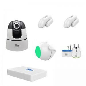 Kit iHome NVR e allarme in un unico dispositivo con telecamera IP Wireless