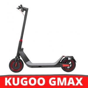 [FATTURA ITALIANA / BONUS] KUGOO G-Max scooter elettrico pieghevole nero da 10 pollici Pneumatico 500W motore brushless 35 km / h Velocità massima fino a 32 km Gamma 36 V Batteria 10.4 Ah