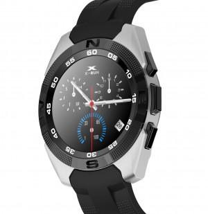 Smartwatch Bluetooth LKM Security con funzione cardiofrequenzimetro contapassi Colore Grigio