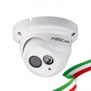 Telecamera Foscam FI9853EP HD 1 megapixel da esterno P2P POE 2.8mm 70°