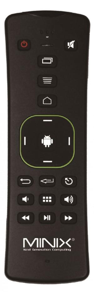 Tastiera Wireless AirMouse Ergonomica Minix con microfono incorporato