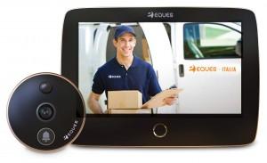 "Eques RS1 Spioncino Porta con Display 7"" con Telecamera 2 Megapixel Wi-Fi"