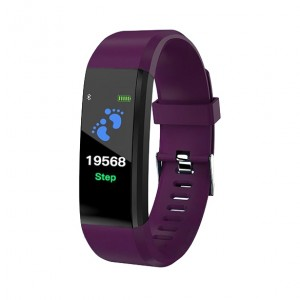 SmartWatch Bluetooth cardiofrequenzimetro LKM Security Viola LKM-OSG115PR