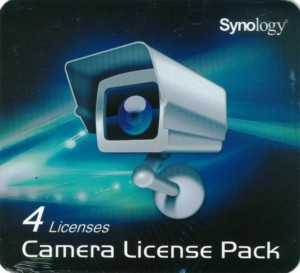 Synology Licenza per 4 Ipcam