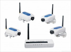 Kit Telecamera wireless Analogica WD213DE4 da interno