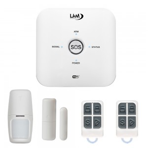 Antifurto casa Wireless Mya LKM Security Allarme GSM WiFi compatibile con Tuya gestione da remoto