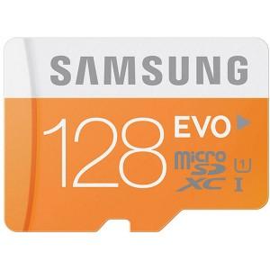 Memoria MicroSD 128GB Samsung MB-MP128D/EU Scheda Micro SD HC EVO