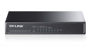 Switch Desktop 10/100Mbit 8 porte, 4 porte PoE