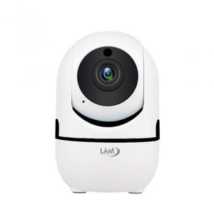 Telecamera IP Wireless Autotracking LKM Security HD 1080P CCTV H.264 Cloud Auto Tracking IP Camera Wifi - Colore bianco