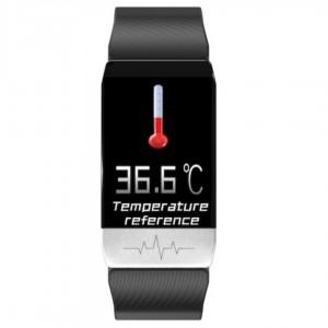 Smart Watch multifunzione ECG PPG Monitoraggio della frequenza cardiaca / della pressione sanguigna / dell'ossigeno nel sangue   (vedi note)