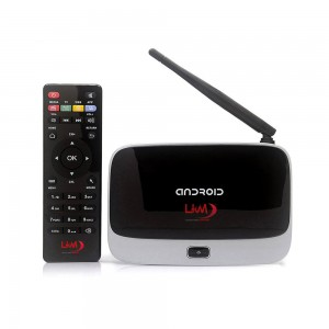 LKM Android mini smart TV box  PC Q7 Quad-core  TV Box  2GB di RAM, OTG HDMI DLNA WIFI 8GB