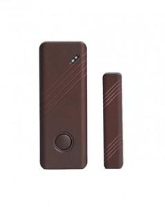 Sensore porte e finestre per sistema di allarme Wireless con frequenza a 433 mHz Colore Marrone