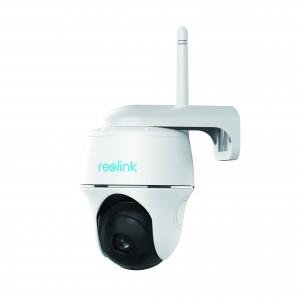 Telecamera da esterno motorizzata 1080P 105° Wifi a batteria ricaricabile Reolink Argus PT