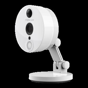 TELECAMERA RICONDIZIONATA Foscam C2 - 2 Megapixel Full-HD1080P H.264 Wireless/Cavo con Filtro IR-Cut - 8 Metri 120°