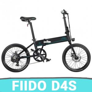 [FATTURA ITALIANA / BONUS] BICI BICICLETTA ELETTRICA FIIDO D4s MODELLO 2020 10,4 Ah 36 V 250 W 20 pollici NERO