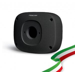 Box copricavi Foscam FAB99N compatibile con le telecamere IP Foscam da esterno Colore NERO