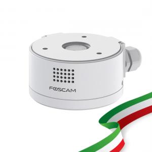 Supporto Telecamera con sistema audio integrato FABD4 Foscam box copricavi per D4Z colore Bianco