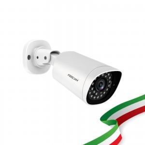 Foscam G2EP Telecamera da Esterno PoE 2 Megapixel Full HD 1080P con infrarossi fino a 20 Metri