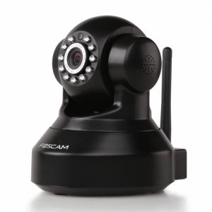 Foscam FI9816P RICONDIZIONATO IP Wireless HD 720P colore nero ottica 1/4 2.8 mm 75°