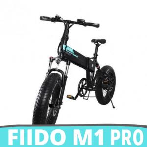 [FATTURA ITALIANA ] FIIDO M1 PRO Mountain Bike elettrica, Pieghevole 12,8 Ah FAT BIKE Bici elettriche Uomo con Schermo LED Doppio Freno a Disco 7 velocità 3 modalità