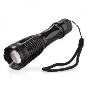 Torcia LED Bianco 1800 Lumen + batteria + adattatore batteria + Carica batteria
