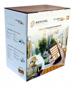 KIT BENTEL absoluta smart  ANTIFURTO allarme