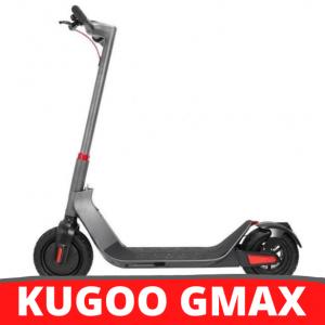 [FATTURA ITALIANA / BONUS] KUGOO G-Max scooter elettrico pieghevole grigio da 10 pollici Pneumatico 500W motore brushless 35 km / h Velocità massima fino a 32 km Gamma 36 V Batteria 10.4 Ah