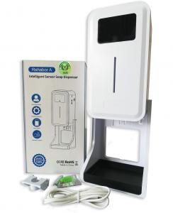 Dispenser automatico con termoscanner per igienizzante sanitario mani con termometro per la misurazione della temperatura con termoscanner Versione 2021
