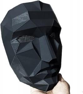 Squid Game Maschera Qualità Premium Maschera Front Man misura 25X18X9 Maschera Da Gioco Di Ruolo