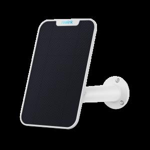 Pannello Solare per Telecamere Esterne Reolink compatibile con Argus 2, PT, Eco, Argus Pro, Go, montaggio Regolabile Colore Bianco
