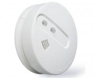 Rilevatore di fumo wireless fotoelettrico per sistema di allarme