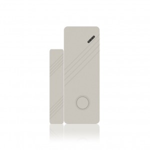 Sensore porte e finestre per sistema di allarme Wireless con frequenza a 433 mHz