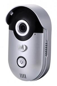 Videocitofono Wifi LKM Security ad Alta risoluzione con Apricancello gestibile da Smartphone Android e iOS
