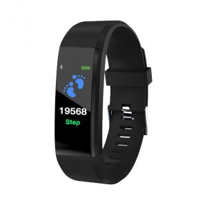 SmartWatch Bluetooth cardiofrequenzimetro LKM Security Nero LKM-OSG115BK