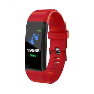 SmartWatch Bluetooth cardiofrequenzimetro LKM Security Rosso LKM-OSG115RD