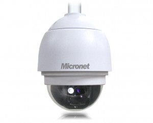 Micronet DOME 1080p Full HD WDR High Speed PTZ Dome IP Camera zoom ottico 18X