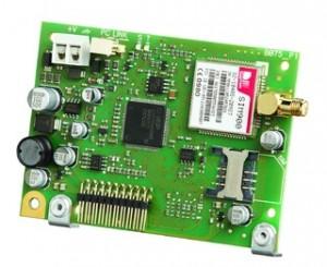 Scheda addizionale comunicatore GSM/GPRS/SMS per serie Absoluta