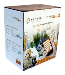KIT BENTEL absoluta smart wireless ANTIFURTO  allarme